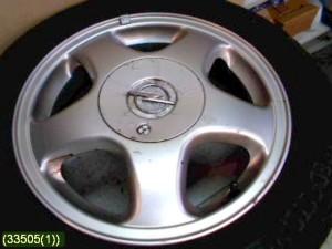 Opel Astra vm.-00 Alumiinivanteet