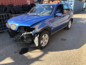 BMW X5 4.6is AUTOMAATTI 4X4 VM.-2002